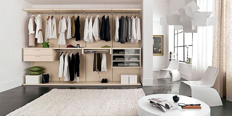 6) Look of the Room Lakkad Works BedroomWardrobes & closets