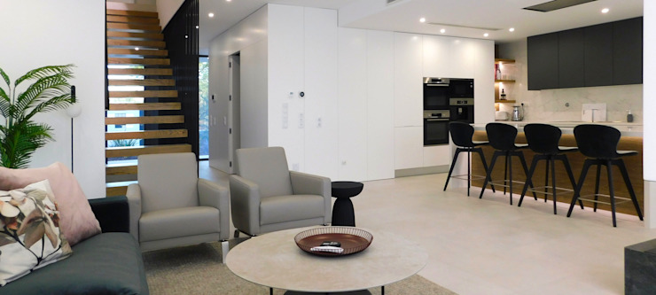 Luís Duarte Pacheco - Arquitecto Salon moderne Blanc