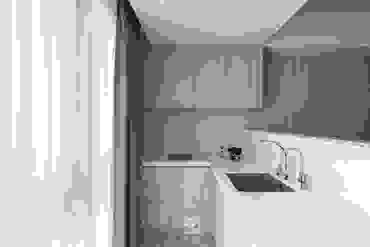 簡易廚房 禾廊室內設計 Small kitchens