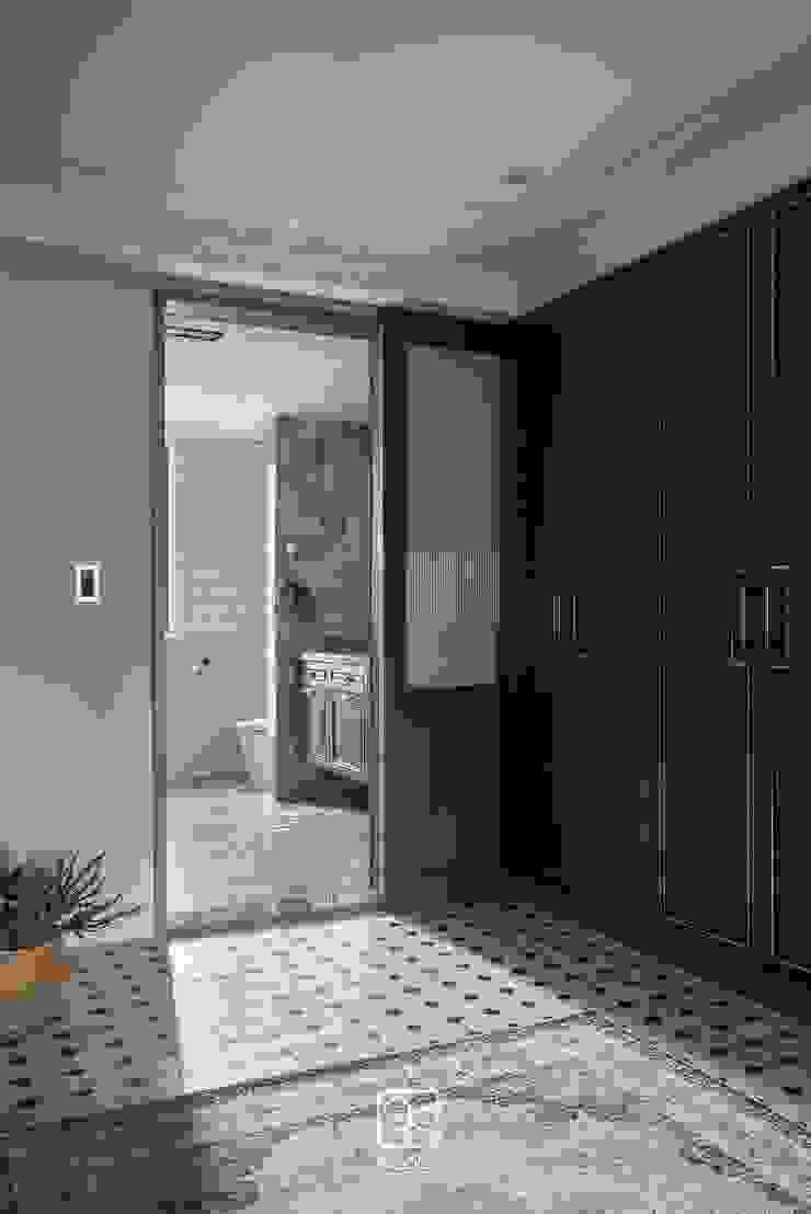 美式古典拉門 禾廊室內設計 Classic style dressing room
