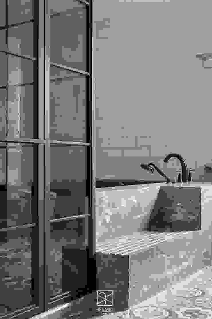 主浴泡澡區 禾廊室內設計 Classic style bathroom