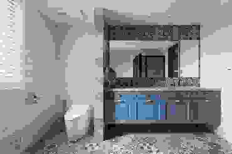 雙檯面設計面盆 禾廊室內設計 Classic style bathroom