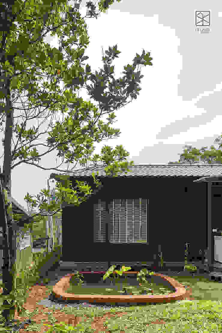 後陽台水池 禾廊室內設計 Country house