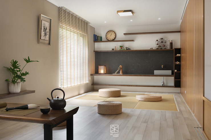 坐禪做畫室 禾廊室內設計 Study/office