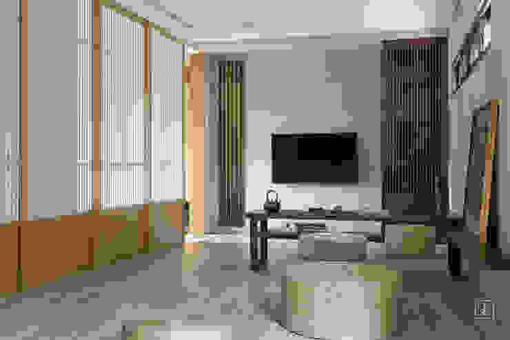 泡茶區 禾廊室內設計 Living room