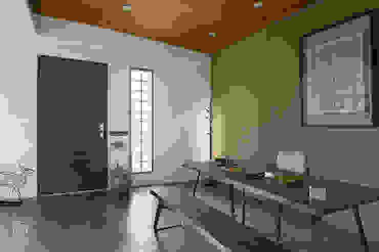 玻璃磚設計 禾廊室內設計 Study/office