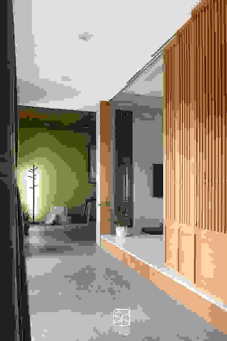 架高木地板 禾廊室內設計 Asian style corridor, hallway & stairs