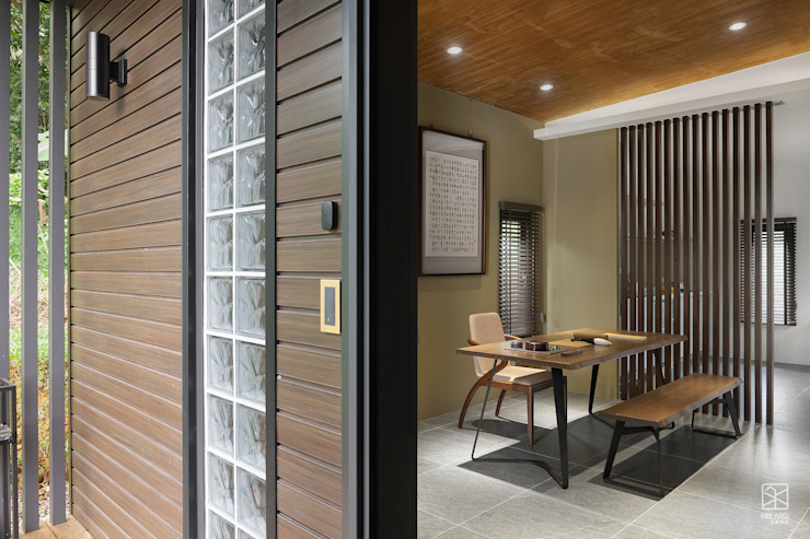 外牆設計 禾廊室內設計 Asian style house