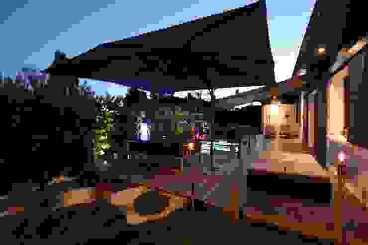 Jardin et piscine SAB & CO Jardin moderne