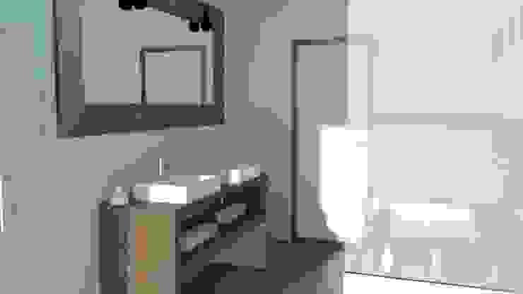 Salle de bain 3D SAB & CO Salle de bain moderne