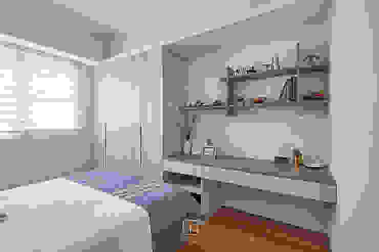 書桌區 禾廊室內設計 Scandinavian style bedroom