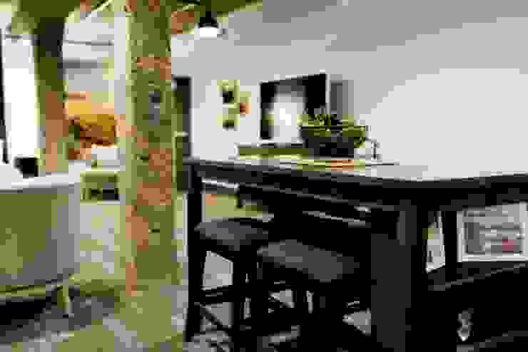 Floorwell Livings de estilo industrial