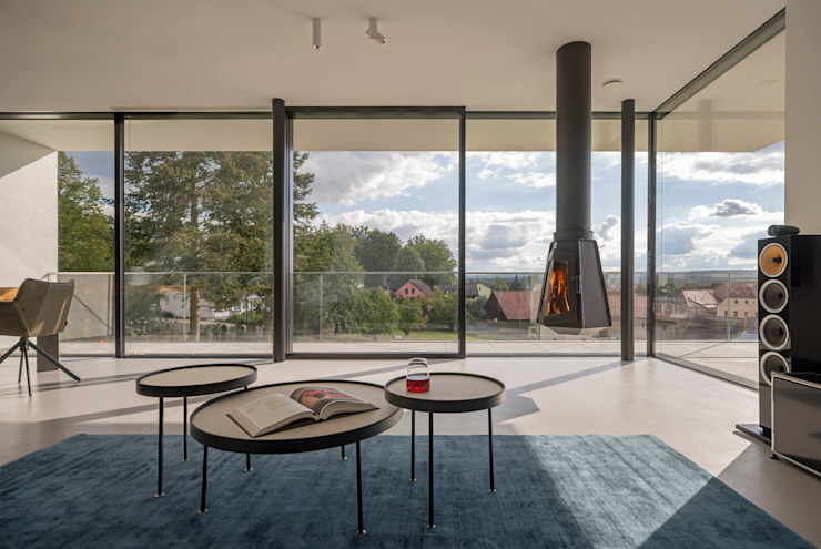 Fichtner Gruber Architekten Living room