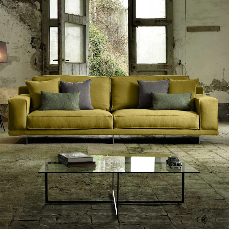 The particular sofa is designed and made in Italy and it is given a contemporary My Italian Living Living roomSofas & armchairs