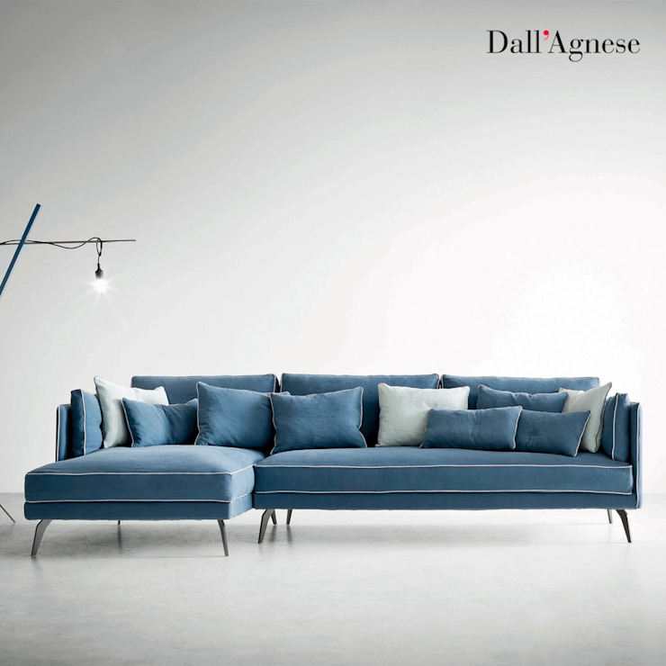 Milton contemporary Italian designer sofa by Dall'Agnese My Italian Living Living roomSofas & armchairs