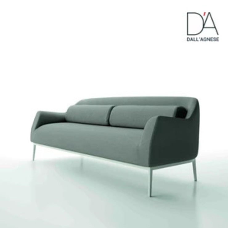 Luna Italian contemporary designer sofa by Dall'Agnese My Italian Living Living roomSofas & armchairs