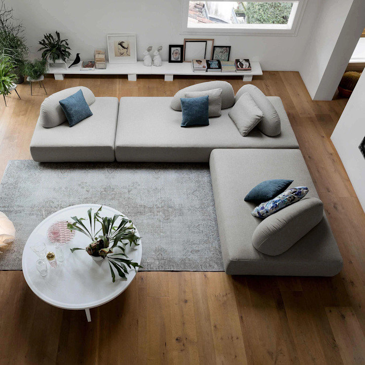 Play compoundable modern sectional sofa by Dall'Agnese My Italian Living Living roomSofas & armchairs