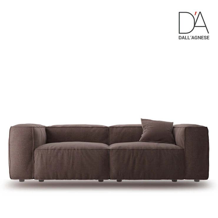 Comfort contemporary sectional Italian sofa by Dall'Agnese My Italian Living Living roomSofas & armchairs