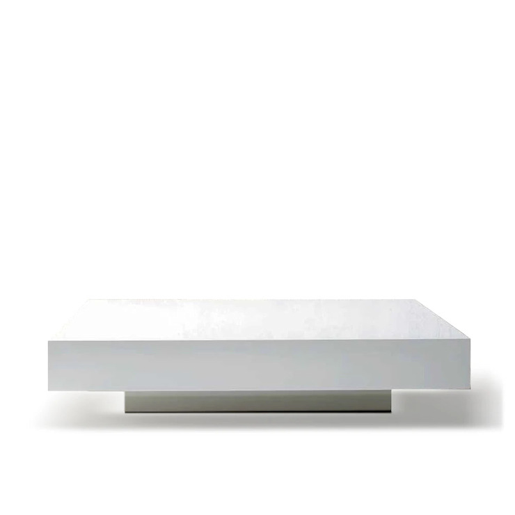 Quarzo low wooden square coffee table by Dall'Agnese My Italian Living Living roomSide tables & trays