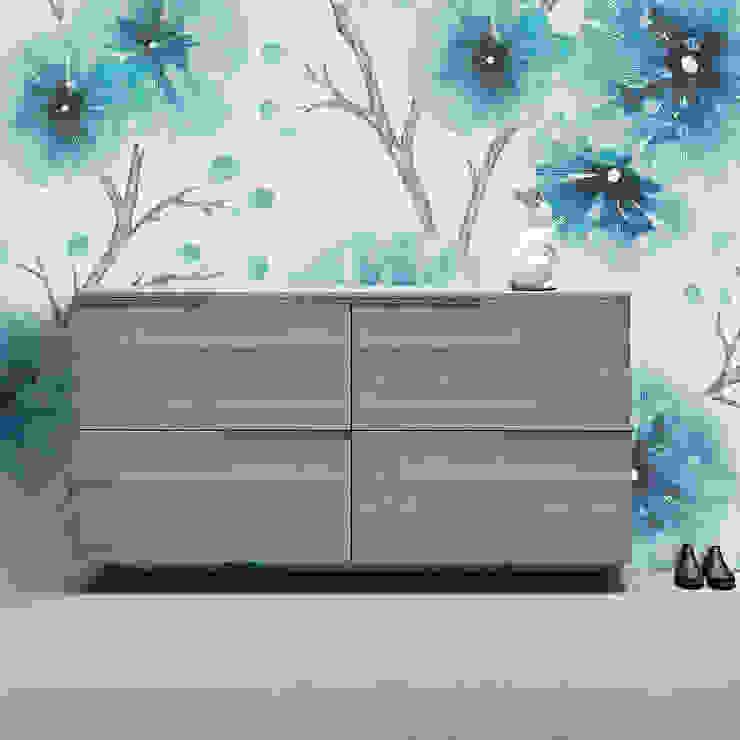 XL wooden double shoe storage unit by Birex My Italian Living Corridor, hallway & stairsStorage