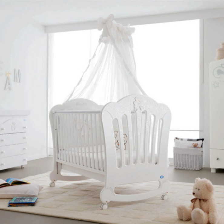 Prestige Principe crystal detail baby cot by Pali My Italian Living Nursery/kid's roomBeds & cribs