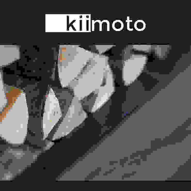 kiimoto kamine Living roomFireplaces & accessories Reinforced concrete Black