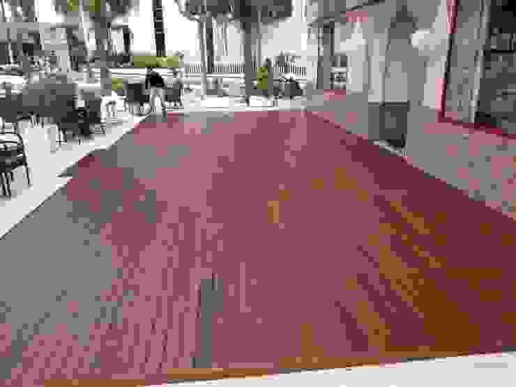 Carpintería área 59 Mediterranean style hotels Solid Wood Wood effect