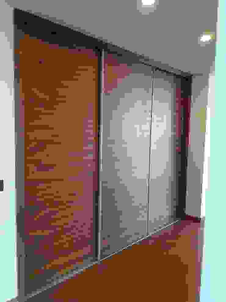 Carpintería área 59 Mediterranean style offices & stores Engineered Wood Wood effect
