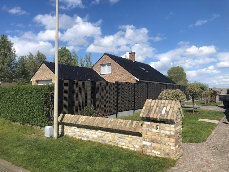 Exclusieve tuinproducten Garden Fencing & walls Natural Fibre Black