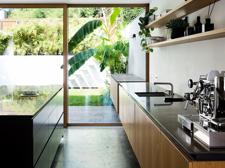 PATRICK HARNISCH ARCHITEKTEN Modern Kitchen