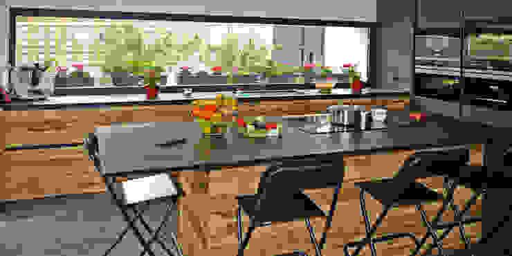 jjdelgado arquitectura Cocinas de estilo minimalista