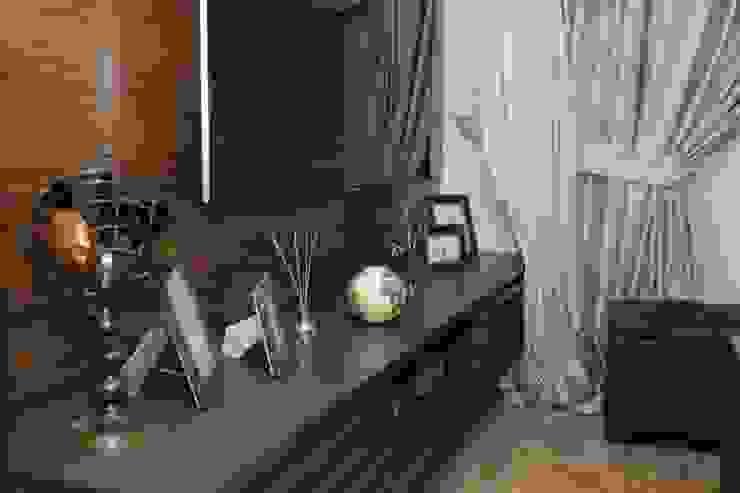 Seyri Sapanca villaları Salon_ 50GR Mimarlık Kırsal Oturma Odası
