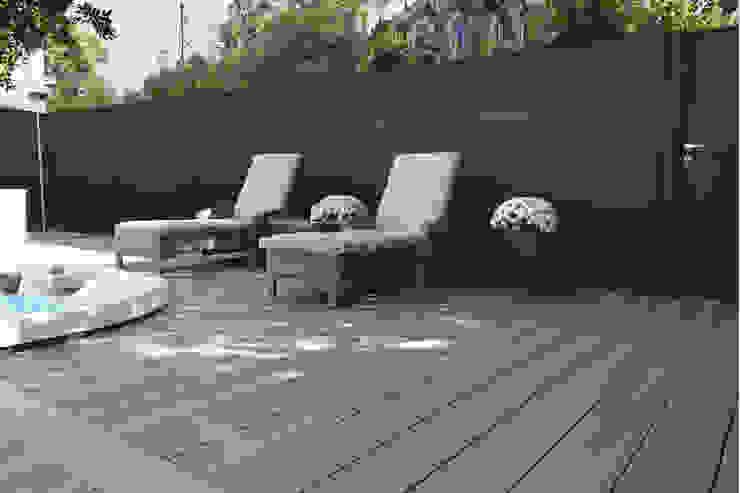 Exclusieve tuinproducten Jardines de estilo moderno Derivados de madera Marrón