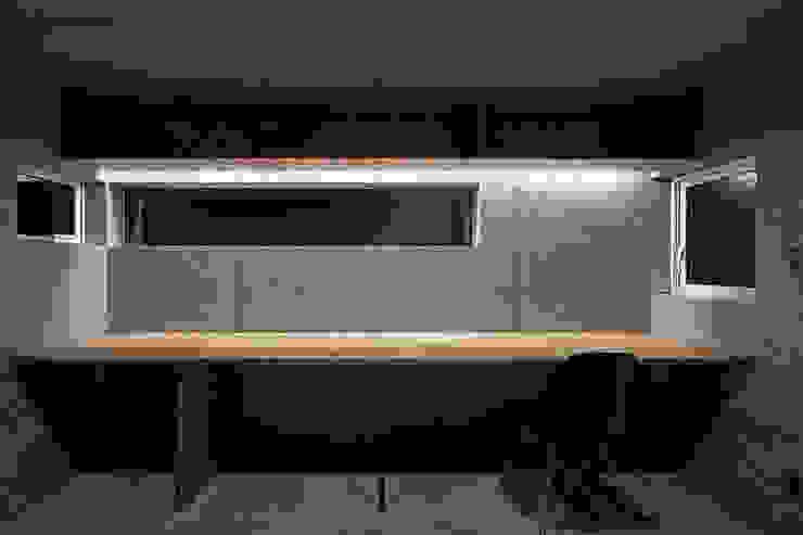 一級建築士事務所 Atelier Casa Modern style study/office Grey