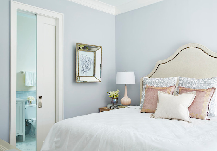 Watersound beach new construction with gulf and lake views Darci Hether New York Modern Bedroom