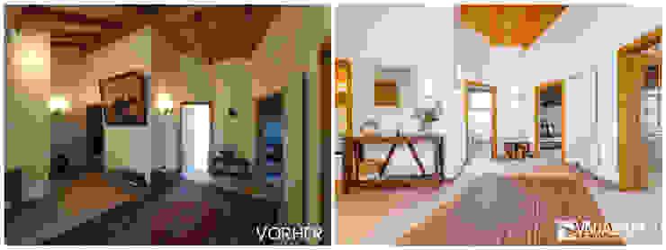 VISUAL BUHO Homestaging & Redesign Pasillos, vestíbulos y escaleras de estilo clásico
