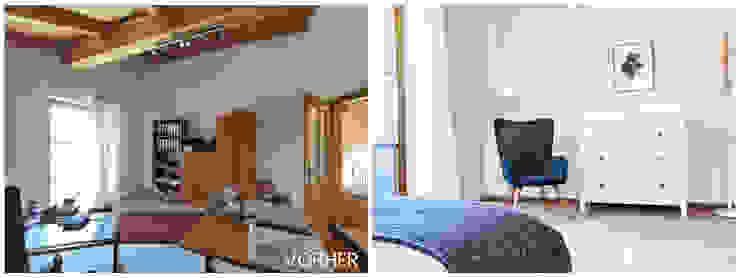 VISUAL BUHO Homestaging & Redesign Cuartos de estilo clásico