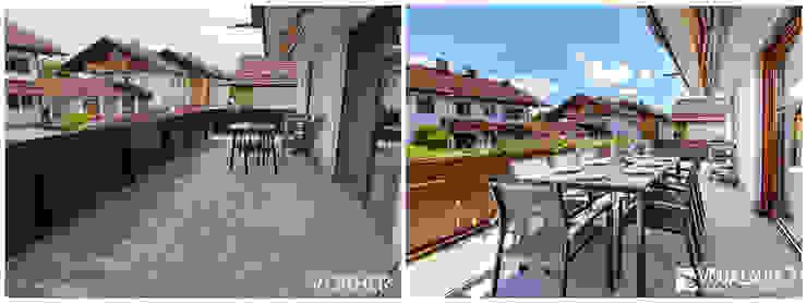 VISUAL BUHO Homestaging & Redesign Balcones y terrazas de estilo clásico