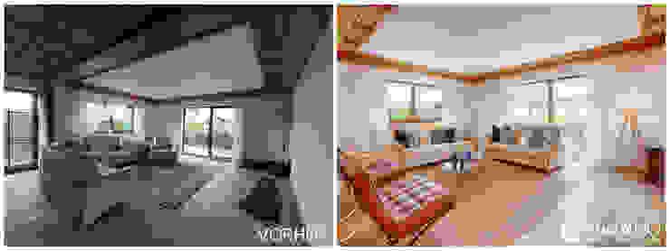 VISUAL BUHO Homestaging & Redesign Salas de estilo clásico