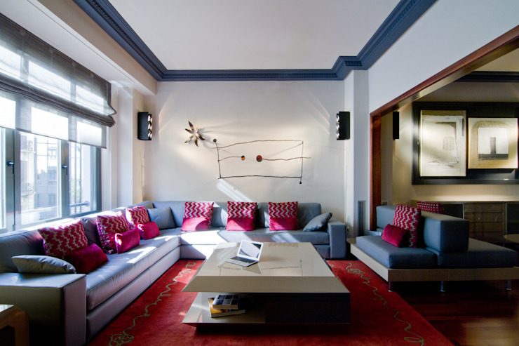 MANUEL TORRES DESIGN Modern Living Room