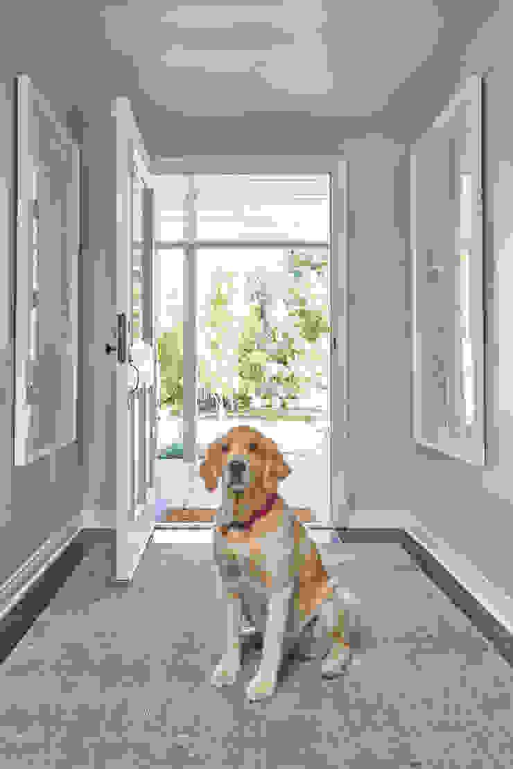 La Canada Family Home Amy Peltier Interior Design & Home Modern Corridor, Hallway and Staircase