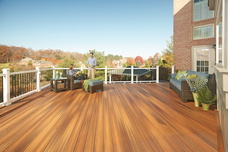 Exclusieve tuinproducten Patios & Decks Engineered Wood Brown