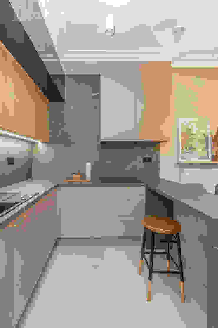 Pracownia Architektury Wnętrz Decoroom Cocinas de estilo ecléctico