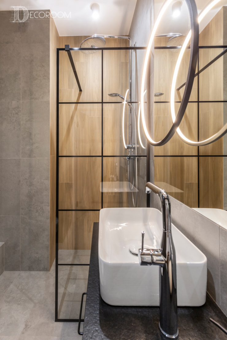 Pracownia Architektury Wnętrz Decoroom Baños de estilo ecléctico