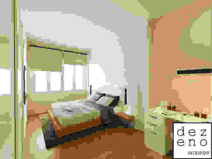 BEDROOM AREA Dezeno Sdn Bhd Minimalist bedroom Plywood Multicolored