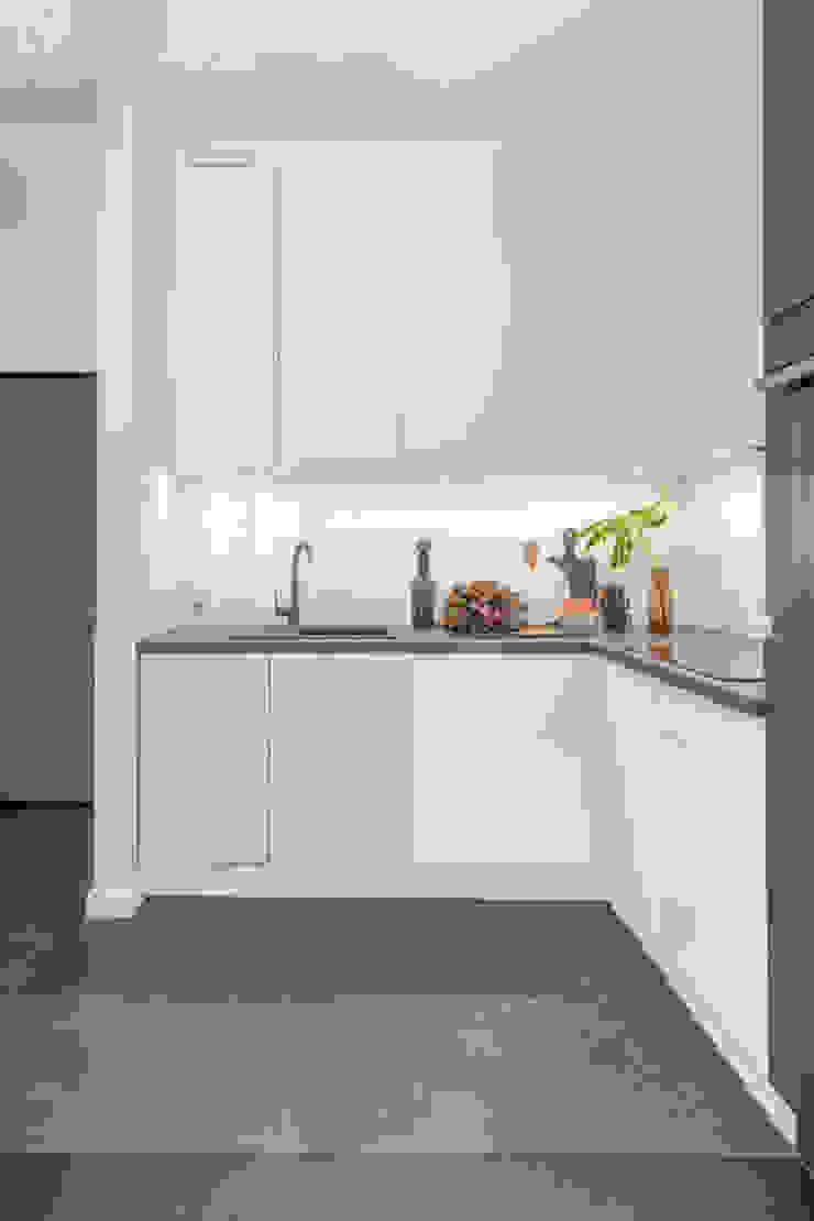 Pracownia Architektury Wnętrz Decoroom Cocinas de estilo industrial