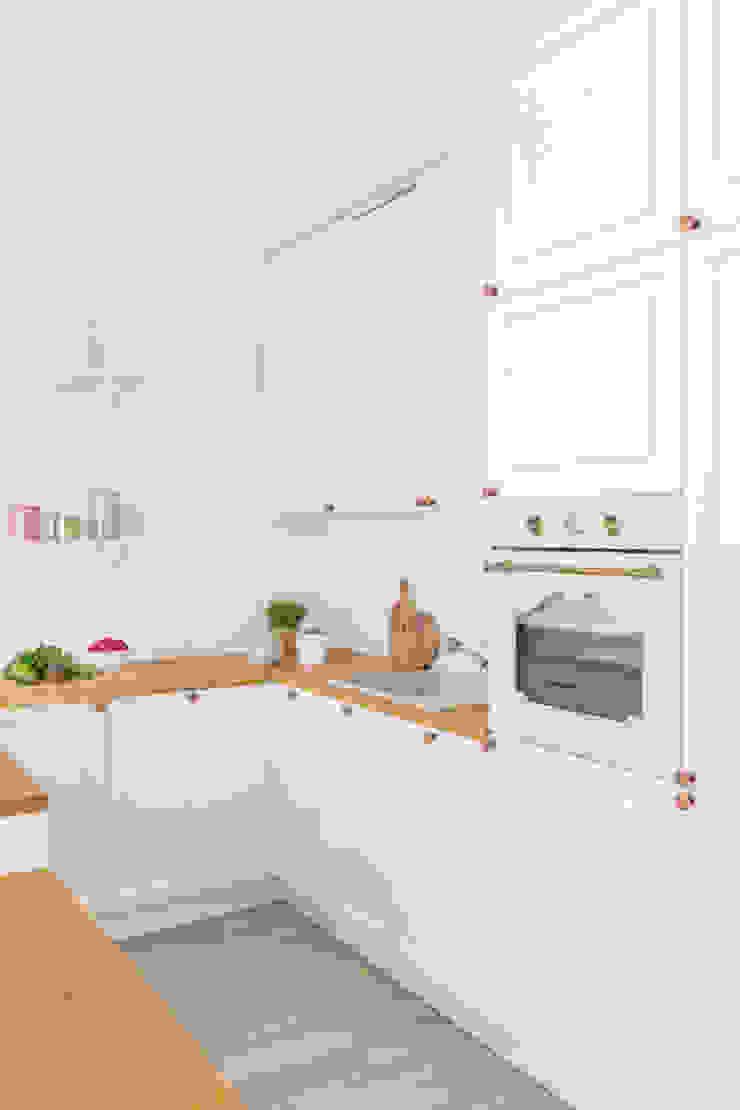 Pracownia Architektury Wnętrz Decoroom Cocinas de estilo rústico