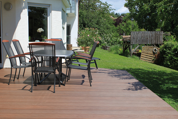Exclusieve tuinproducten Modern Terrace Engineered Wood Brown