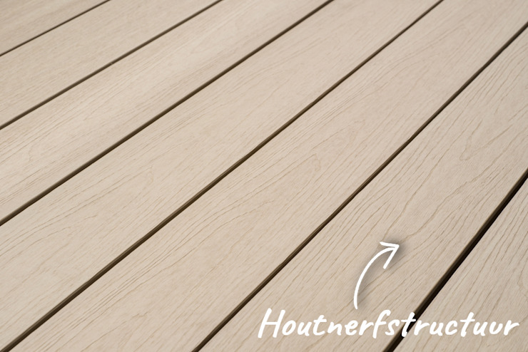 Exclusieve tuinproducten Modern Terrace Engineered Wood White