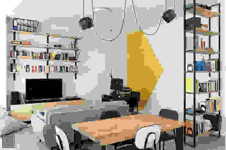 Appartamento di Talos Architettura Soggiorno moderno di G Frame Studio Moderno